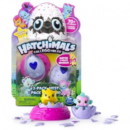 Spin Master Hatchimals 2-pak z gniazdem