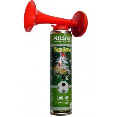 Fanfara kibica Pulsar 300 ml aerozol z trąbką
