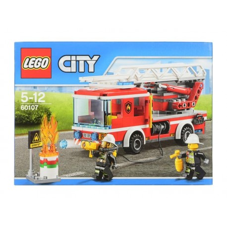 Lego City, Fire Wóz strażacki z drabiną 60107