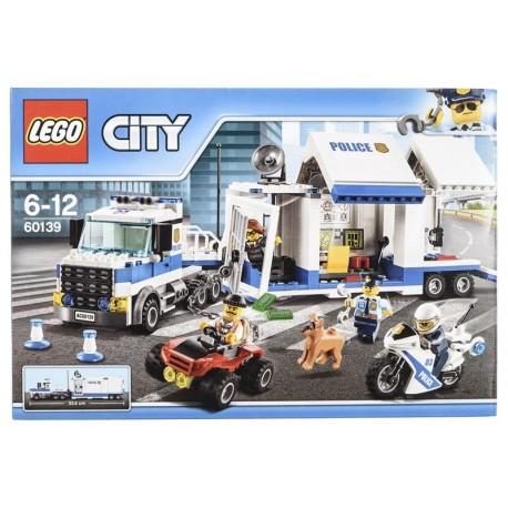 Lego City Police, Mobilne centrum dowodzenia 60139