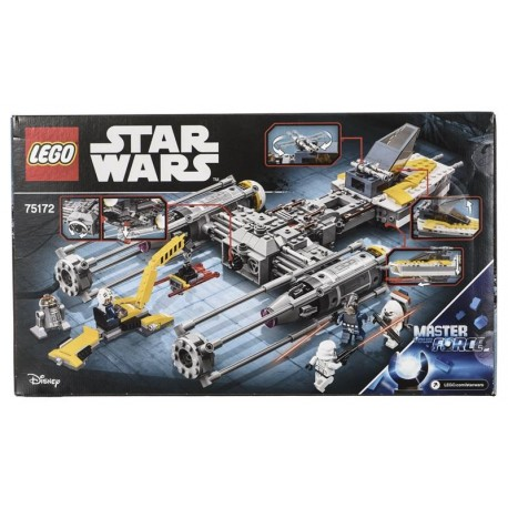 Lego Star Wars, Y-Wing Starfighter 75172